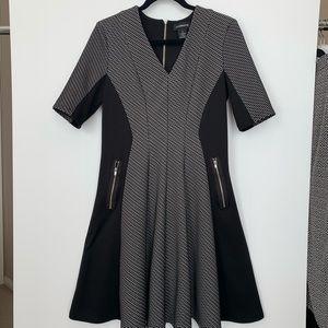 Liz Claiborne fit and flare dress